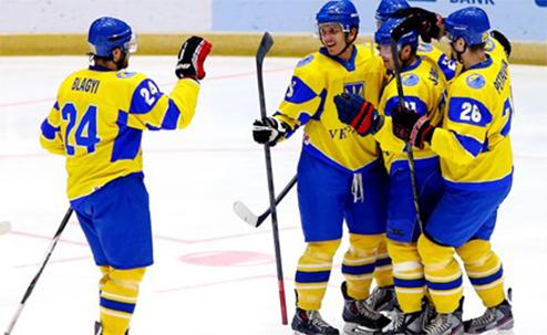 ЧМ. Украина сохраняет прописку в дивизионе разбив хозяев турнира