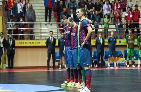 Футзал. Барселона разбила Динамо в финале Кубка УЕФА