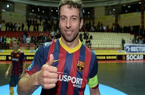 Футзал. Барселона посвятила победу в Кубке УЕФА Тито Виланове