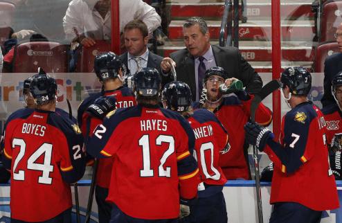 НХЛ. Флорида вновь осталась без тренера