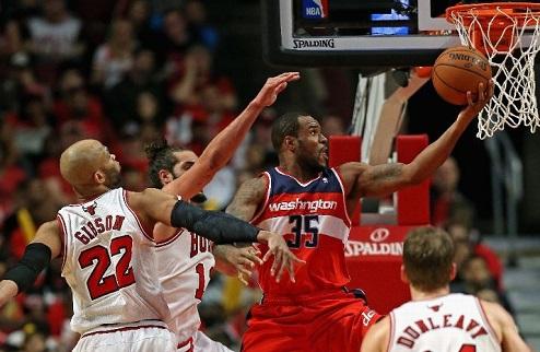 НБА. Вашингтон выбивает Чикаго, очередной овертайм в Оклахоме, победа Клипперс