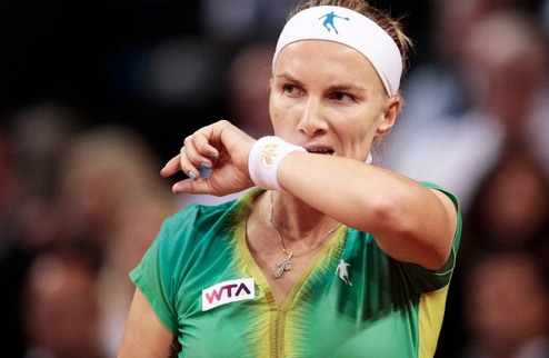 Оэйраш (WTA). В финале сыграют Суарес-Наварро и Кузнецова