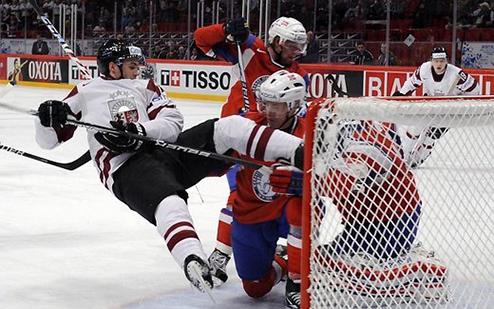 Сухая победа Латвии в контрольном матче