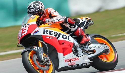 MotoGP. Гран-при Испании. Маркес выгрызает поул у Лоренсо