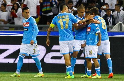 Наполи выиграл Кубок Италии