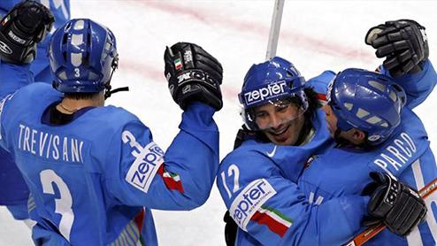 ЧМ. Сборная Италии первой прибыла на чемпионат мира в Минске