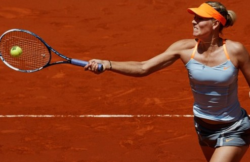 Мадрид (WTA). Шарапова проходит Ли, победы Халеп и Радваньской