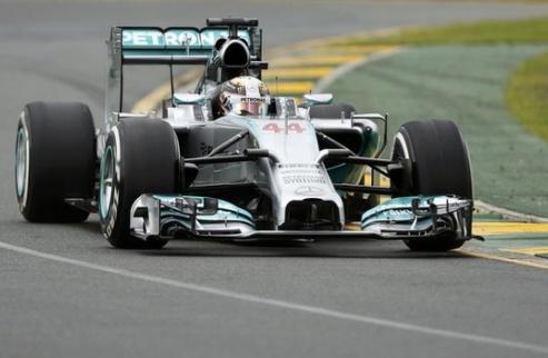 Формула-1. Гран-при Испании. Хэмилтон задает темп