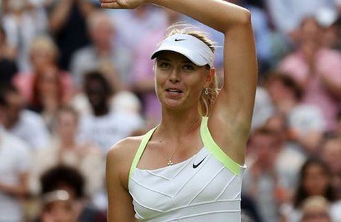 WTA: Шарапова — лучшая теннисистка апреля + ВИДЕО