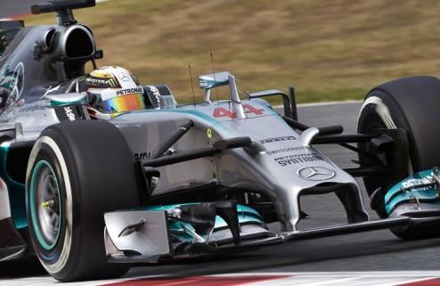 Формула-1. Гран-при Испании. Победа Хэмилтона, подиум Риккьярдо, прорыв Феттеля
