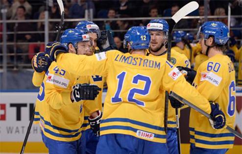 ЧМ. Швеция сильнее в серии послематчевых буллитов