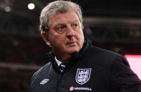 Ходжсон назвал состав Англии на чемпионат мира