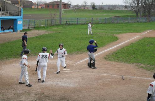 Бейсбол. Чемпионат Украины. Результаты 1-го тура