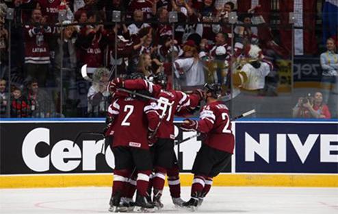 ЧМ. Латвия удерживает победу над Казахстаном