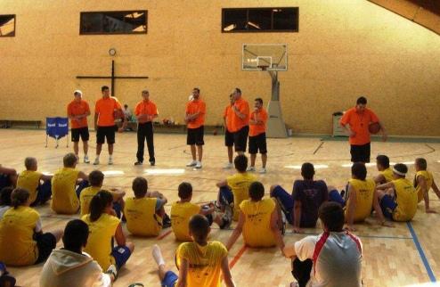 ������������� ������ Khyzhaky Basket Summer Camp-2014