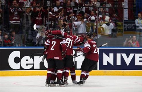 ЧМ. Латвия добывает трудную победу над американцами