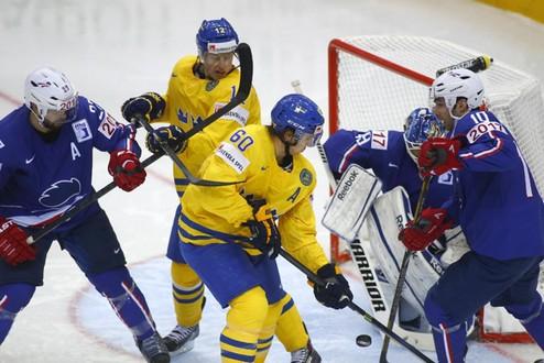ЧМ. Франция дает бой, но уступает Швеции