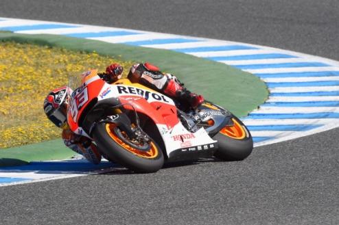 MotoGP. Гран-при Франции. Маркес выигрывает разогрев