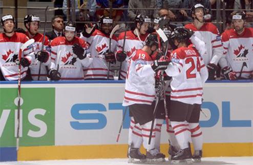 ЧМ. Канада вырывает победу в овертайме
