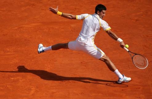 Джокович вырвал победу у Надаля в Риме