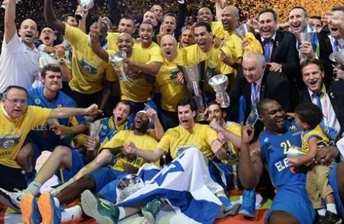 Маккаби становится чемпионом Евролиги!