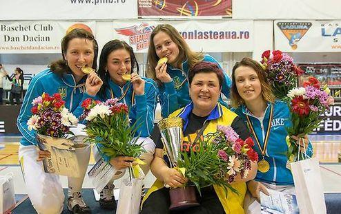 Фехтование. Триумф украинских рапиристок на командном Кубке Европы