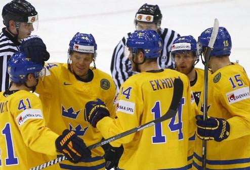 ЧМ. Швеция помогает Италии отправиться в первый дивизион