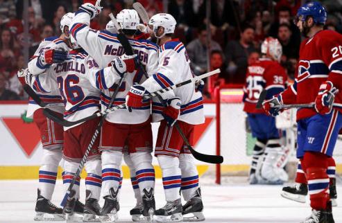НХЛ. Рейнджеры добывают вторую победу на выезде