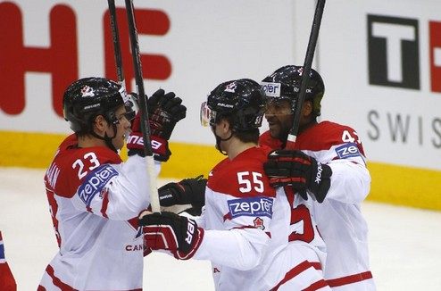 ЧМ. Канада побеждает Норвегию и выигрывает группу А