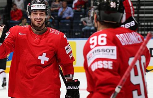 ЧМ. Швейцария не пускает Латвию в плей-офф
