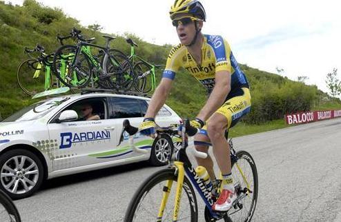 Джиро д'Италия: Роджерс награжден за своевременную атаку