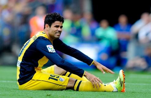 Атлетико: Диего Коста и Арда Туран еще могут сыграть против Реала