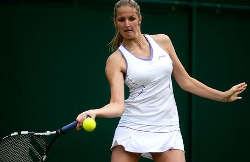 Нюрнберг (WTA). Плишкова шокирует Кербер