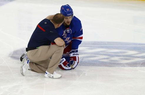 НХЛ. Рейнджерс: Степан выбыл на неопределенный срок