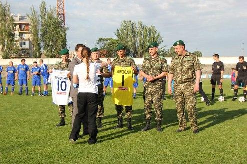 Подарок украинским военным от ультрас киевского Динамо