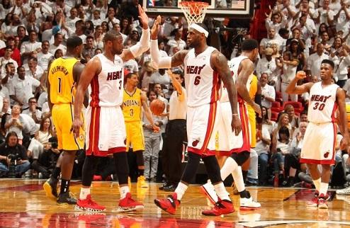 НБА. Майами берет третий матч и выходит вперед в серии