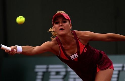 Ролан Гаррос (WTA). Уверенные старты Радваньской и сестер Уильямс, провал Кириленко
