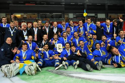 Сборная Украины по хоккею вошла в топ-20 рейтинга IIHF