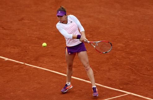 Ролан Гаррос (WTA). Халеп уверенно разбирается с Уотсон