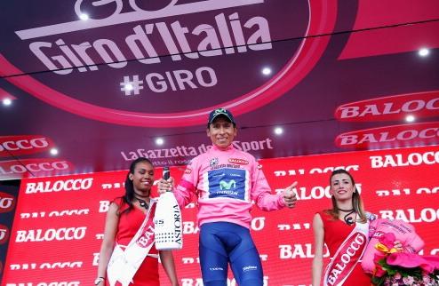 Джиро д'Италия: Кинтана выиграл горную разделку