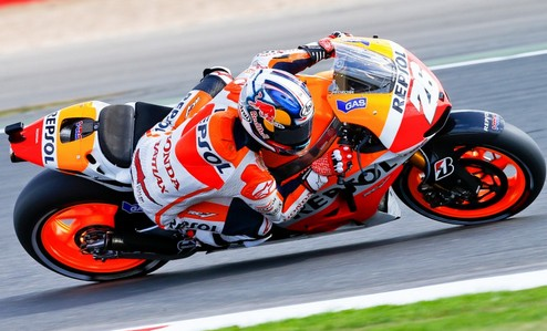 MotoGP. Гран-при Италии. Педроса выигрывает свободные заезды, Хейден прекращает борьбу