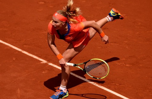 Ролан Гаррос (WTA). Битва Квитовой и Кузнецовой, Младенович завершает борьбу
