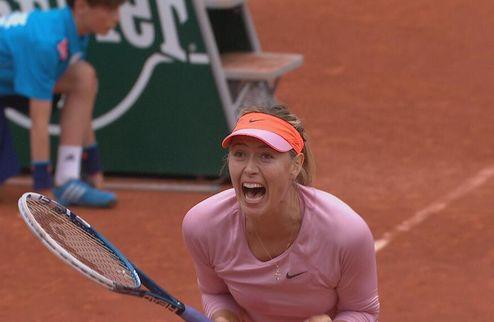 Ролан Гаррос (WTA). Шарапова сломила Стосур, Мугуруса снова побеждает