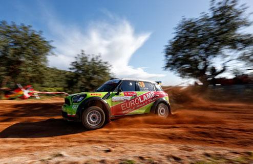 WRC. Eurolamp WRT стартовала на ралли Сардинии