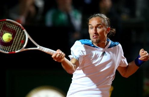 Долгополов – четвертьфиналист турнира в Лондоне