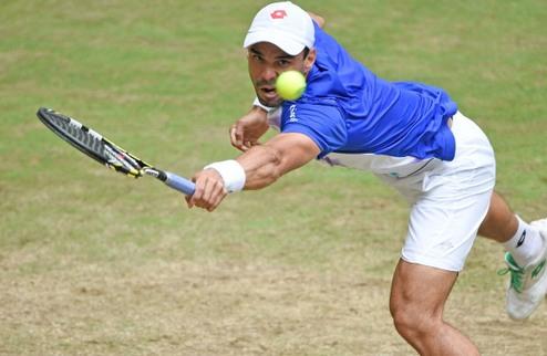 Галле (АТР). Фалья — в полуфинале, Федерер проходит на отказе