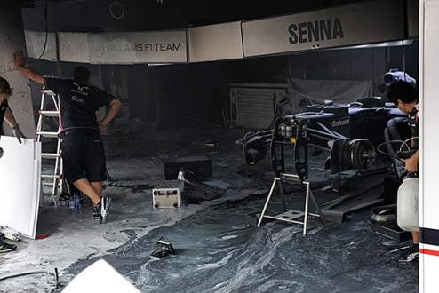 Формула-1 перейдет на новые системы противопожаной безопасности