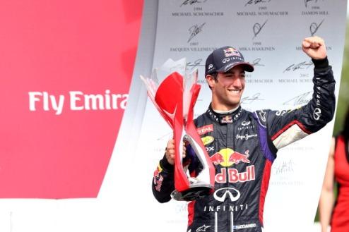 """Формула-1. Риккардо: """"Ожидаю триумфального возвращения Гран-при Австрии"""""""
