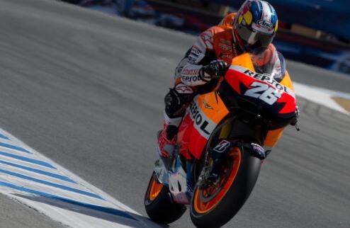 MotoGP. Гран-при Каталонии. Педроса выигрывает квалификацию