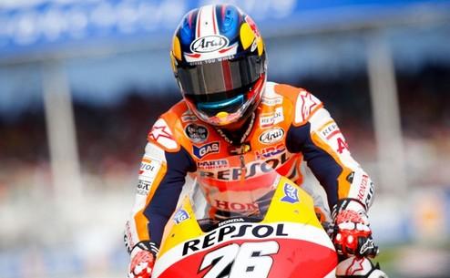MotoGP. Гран-при Каталонии. Педроса выигрывает разогрев